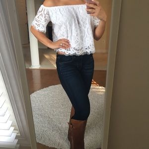 Express off the shoulder top